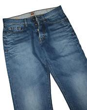 Hugo Boss 50218641 Medium Blue Denim Orange 25 Daily Jeans W33 / L36