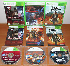 Devil May Cry Pack (1, 2, 3 Classics HD Collection, 4, DmC) Xbox 360, Pal-España