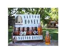 Nauvoo Honey, Beehive Glass Bottle Mormon LDS