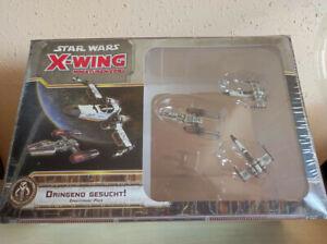 """Star Wars X-Wing Miniaturenspiel - Erweiterung """"Dringend gesucht"""" OVP"""