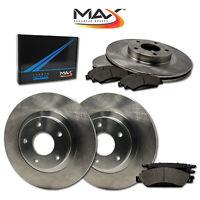 [Front + Rear] Rotors w/Metallic Pad OE Brake Kit