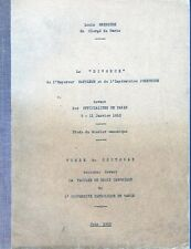 C1 NAPOLEON Gregoire LE DIVORCE DE L EMPEREUR ET DE JOSEPHINE 1810 These EO