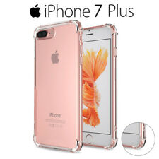 Funda Gel Silicona Transparente Proteccion Antigolpes para iPhone 7 Plus