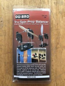 DuBro Tru-Spin Prop Propeller Balancer for RC Plane Heli Drone FPV