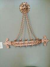 Old Hard To Find Homco Home Interior Medallion Chains And Sconce