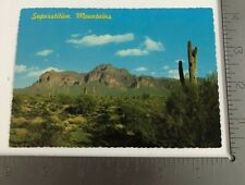 Vintage Postcard Superstition Mountains Lost Dutchman Mine Arizona