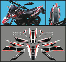 Yamaha WR 125 X  Anniversario  N.R. 2009 / 14 - adesivi/adhesives/stickers/decal