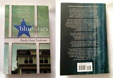 Blue Stars: A Novel, by Emily Gray Tedrowe [2015] Hard Cover w/Slipcover