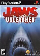 Jaws Unleashed (Sony PlayStation 2, 2006) Complete PS2 Game