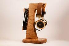 Wooden Headphone stand Headphone holder Headphone hanger tech gift