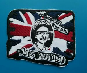 Sex Pistols Patch Punk Rock Music Festival Sew or Iron On Badge