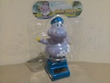 New Dancing Solar Powered Character Hippo with own solar panel