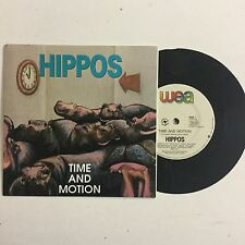 Hippos Time And Motion Like New OZ 1989 Single