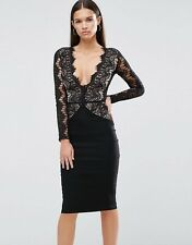 Nasty Gal Must Be the Lace Midi Dress medium rare london new with tags