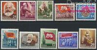 DDR 344-353 postfrisch 1953 70.Todestag von Marx (8928044