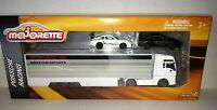 Majorette Porsche 911 GT3 RS Team Racing Transporter Trailer 2 die-cast cars New