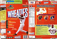 2005 Albert Pujols Champions Wheaties Cereal Box shm565