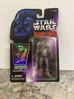 CHEWBACCA 1996 SHADOWS OF THE EMPIRE STAR WARS ACTION FIGURE SEALED CARD