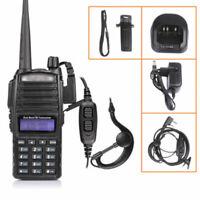 Baofeng Black UV-82 VHF/UHF Dual-Band FM Ham Walkie Talkie Two-way radio
