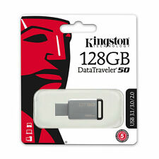 Kingston DataTraveler DT50 128GB USB 3.1/3.0 Stick Pen drive USB Flash Black