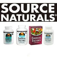 Source Naturals ESSENTIAL ENZYMES all sizes - select option