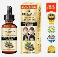 Castor Oil For Hair Growth, Eyelashes, Brows, Beard:🥇100% Pure Pale Pressed🥇
