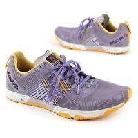 Reebok Womens Size 11 CrossFit Sprint 2.0 Training Shoes Lavender Purple Gold