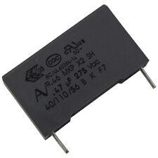 2 Kemet r46kn347000p1m mkp-funkentstörkondensator 275v 470nf rm22, 5 856651