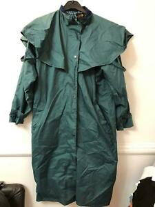 Target Dry Green Raincoat Jacket Size 16 Women Long Sleeve (M193) Waterproof