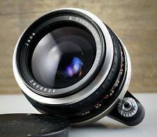 CARL ZEISS JENA lens FLEKTOGON 2.8/35 * EXA EXAKTA mount 35mm f/2.8 RARE VERSION