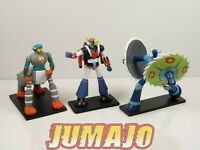 GOL5 LOT 3 figurines résine GO NAGAI HACHETTES 9 à 14 cm GOLDORAK + combattants