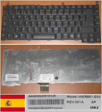 Clavier Qwerty Espagnol GATEWAY MX7000 HMB891-E02 HMB891-M01 HMB891-E01 Noir