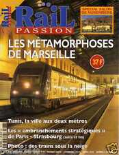 Magazine RAIL PASSION n° 27 de 1999 TRAIN-TRANSPORT-LOCOMOTIVE-MARSEILLE