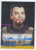 WILLIAM CAMPBELL CAPTAIN KOLOTH STAR TREK TOS SEASON 2 AUTO AUTOGRAPH SP A45