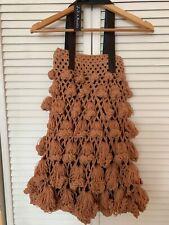 women's J.P. & Mattie bag light brown crochet