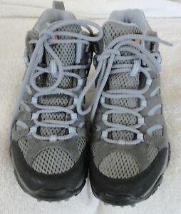 Merrell Moab Waterproof Hiking Boots Grey Periwinkle J88792 Women Size 6.5 M