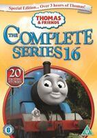 Thomas and Friends Series 16 Season Sixteen The Tank Engine Region 2 DVD New