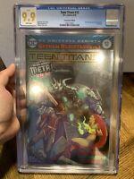Teen Titans #12 CGC 9.9 MINT FOIL CONVENTION VARIANT 1ST APP BATMAN WHO LAUGHS