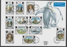 FALKLAND ISLANDS 2006 QEII Cover 150 Years Anniversary Set Mount Pleasant CDS