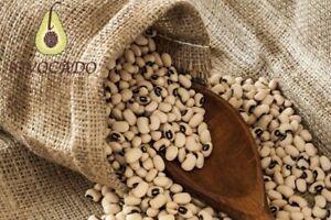 Dry Black eyed (blackeye) Beans 100g - 10kg / High quality / Free P&P / Lovocado
