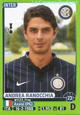 214 ANDREA RANOCCHIA ITALIA INTER STICKER CALCIATORI 2015 PANINI