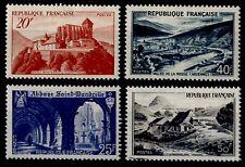 PAYSAGES des Années 40, Neufs * = Cote 12 €  / Lot Timbres France 841A à 843