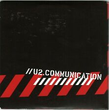 U2 Communication Fan Club Cd and Cd Rom Rare Promo lImited Live Rare Compilation