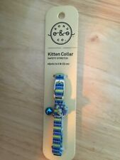 New listing Kitten safety stretch collar adjusts to 8� bell and beaded accent