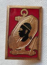Insigne boutonnière Marine ESCORTEUR LE SOUDANAIS 1945  Original émail