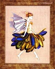 """SALE!  COMPLETE XSTITCH MATERIALS """"THE FEATHER FAIRY"""" MD83 by Mirabilia"""