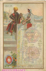 MN162 - MENU MESSAGERIES MARITIMES 1904 PAQUEBOT CHILI