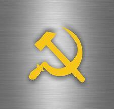 Sticker tuning decal car urss flag cccp ussr emblem hammer soviet russia r3