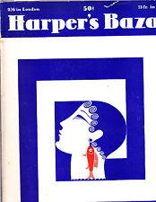 Harper's Bazar Bazaar July 1929 Erte  Duchesse de Gramont Mary Nowitzky