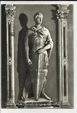 VECCHIA CARTOLINA DI FIRENZE MUSEO NAZIONALE SAN GIORGIO DONATELLO